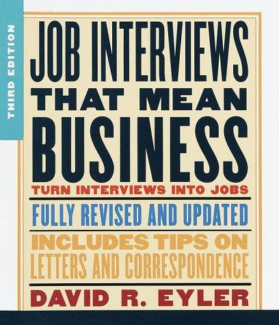 Resumes for Success David R. Eyler