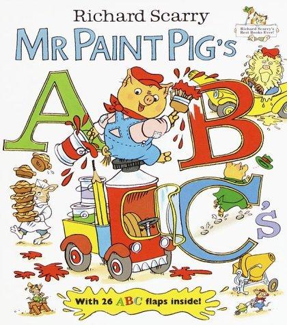 Mr. Paint Pigs ABC Richard Scarry