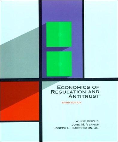 Economics Of Regulation And Antitrust W. Kip Viscusi