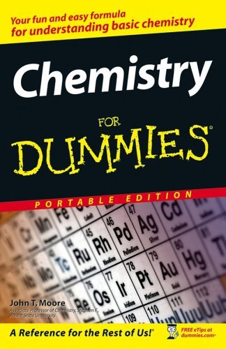 Chemistry For Dummies, Portable Edition John T. Moore