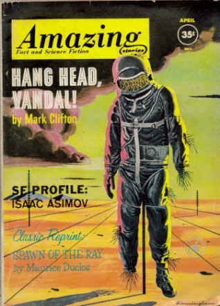 Amazing Stories April 1962 (Volume 36 #4)  by  Cele Goldsmith