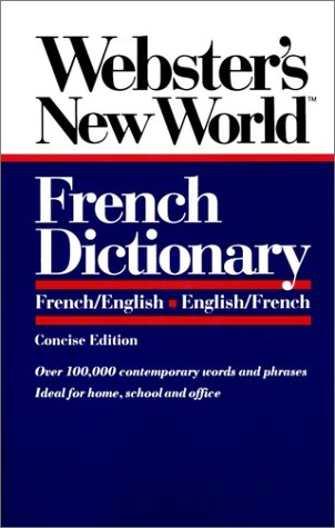Collins-Robert Concise French-English English-French Dictionary Beryl T. Atkins