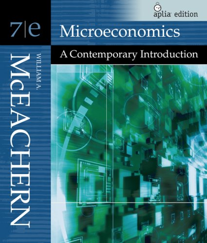 Microeconomics William A. McEachern