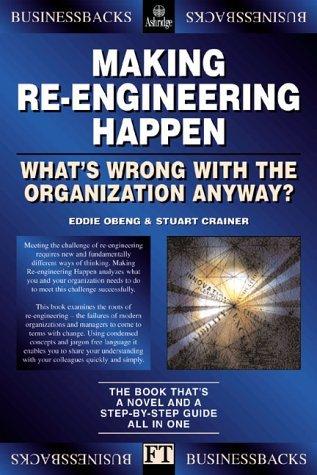Making Re-Engineering Happen Eddie Obeng