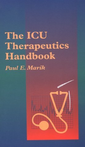 The Icu Therapeutics Handbook Paul Ellis Marik