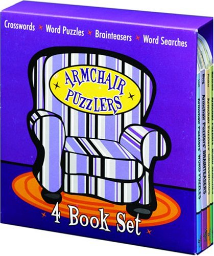 Armchair Puzzlers 4 Book Set  by  Maria Llull