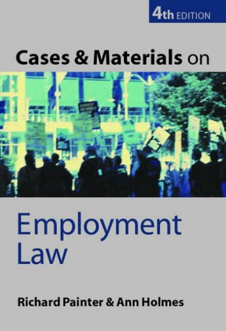Employment Rights: A Reference Handbook  by  Richard W. Painter
