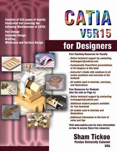 Catia V5 R15 For Designers Sham Tickoo