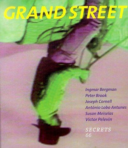 Grand Street 66: Secrets (Fall 1998) Grand Street