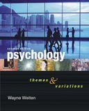 Featured Studies Reader for Weitens Psychology: Themes and Variations Wayne Weiten