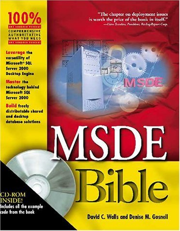 Msde Bible [With 1] David C. Walls