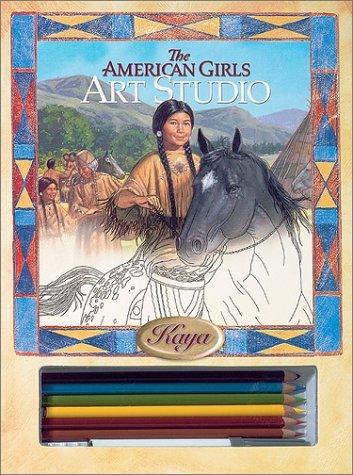 The American Girls Art Studio: Kaya  by  American Girl