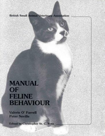 Manual Of Feline Behaviour Valerie OFarrell