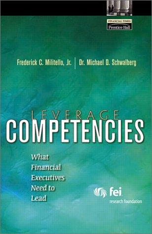 Integrity Based Financial leadership & Ethical Behavior Frederick C. Militello