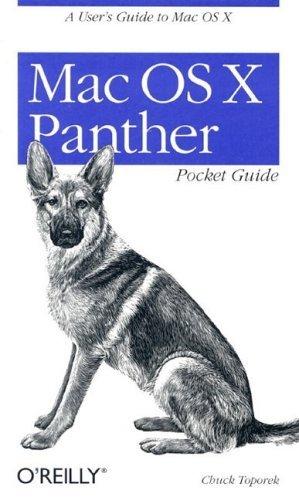 Mac OS X Panther Pocket Guide  by  Chuck Toporek