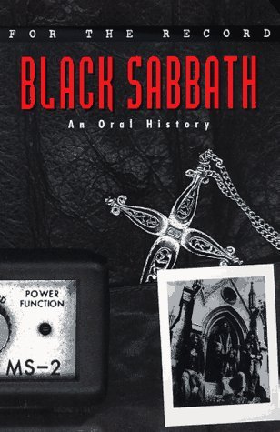 For the Record 2: Black Sabbath  by  Dave Marsh