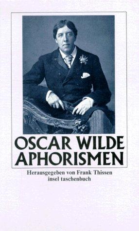 Aphorismen  by  Oscar Wilde