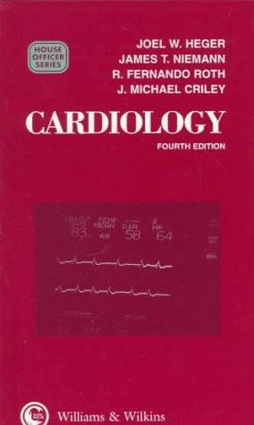 Cardiology  by  Joel W. Heger