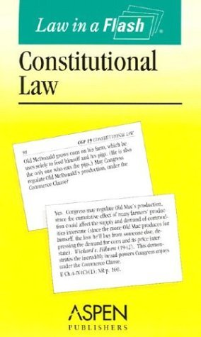 Law in a Flash: Constitutional Law  by  Aspen Publishers