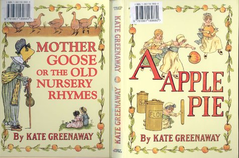 An Apple Pie  by  Kate Greenaway