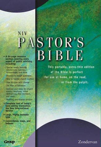 Holy Bible: NIV Pastors Bible  by  Anonymous
