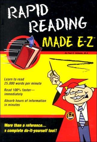 Rapid Reading Made E-Z  by  Paul R. Scheele