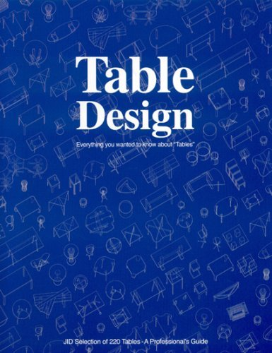 Table Design: Everything You Wanted to Know about Tables  by  Gunshira Matsumoto