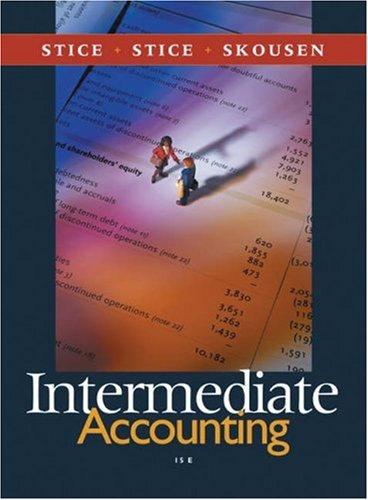 Sg Intermed Acct Vol 2-13e James D. Stice