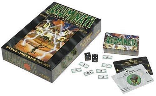 Illuminati: The Game of Conspiracy Steve Jackson
