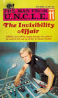 The Invisibility Affair (The Man From U.N.C.L.E., #11) Thomas Stratton
