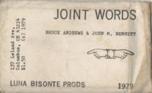 JOINT WORDS John M. Bennett