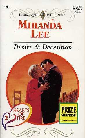 Desire & Deception (Hearts Of Fire, #2)  by  Miranda Lee