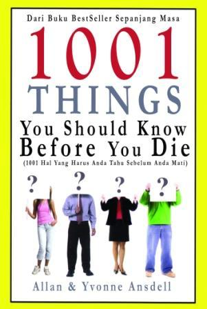 1001 Things You Should Know Before You Die Allan Ansdell