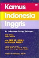 Kamus Indonesia-Inggris John M. Echols