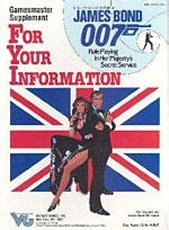 For Your Information (James Bond 007 role-playing game)  by  Victory Games