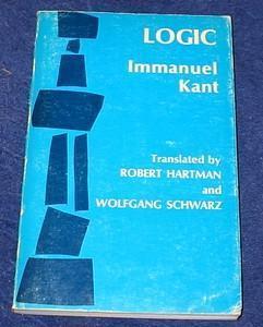 Logic Immanuel Kant
