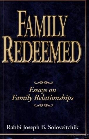 Family Redeemed: Essays on Family Relationships  by  James E.G. Zetzel