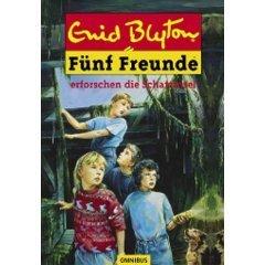 Fünf Freunde erforschen die Schatzinsel (Fünf Freunde, #1) Enid Blyton