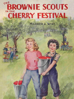 The Brownie Scouts in the Cherry Festival (Brownie Scouts, #3) Mildred A. Wirt