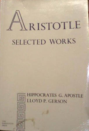 Selected Works  by  Aristotle