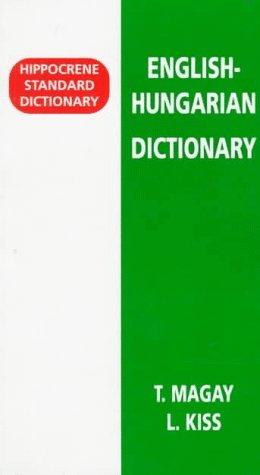 Hungarian/English-English/Hungarian Standard Dictionary  by  Tomas Maygay