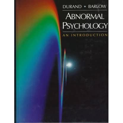 a discussion on abnormal psychology Abnormal psychology is the branch of psychology focused on abnormal behavior and psychopathology, covering a broad range of psychological disorders.