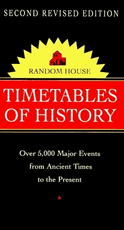 Random House Timetables of History (Random House Vest Pocket Series)  by  Random House