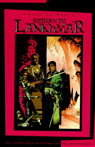Return to Lankhmar (Fafhrd and the Gray Mouser, #5-6)  by  Fritz Leiber