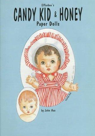 Effanbees Candy Kid & Honey Paper Dolls John Axe