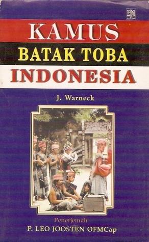 Kamus Batak Toba Indonesia Johannes Warneck