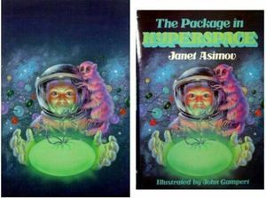 The Package In Hyperspace  by  Janet Asimov