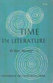 Time in Literature  by  Hans Meyerhoff
