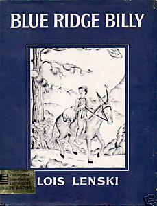 Blue Ridge Billy  by  Lois Lenski