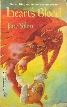 Hearts Blood (The Pit Dragon Chronicles, #2)  by  Jane Yolen